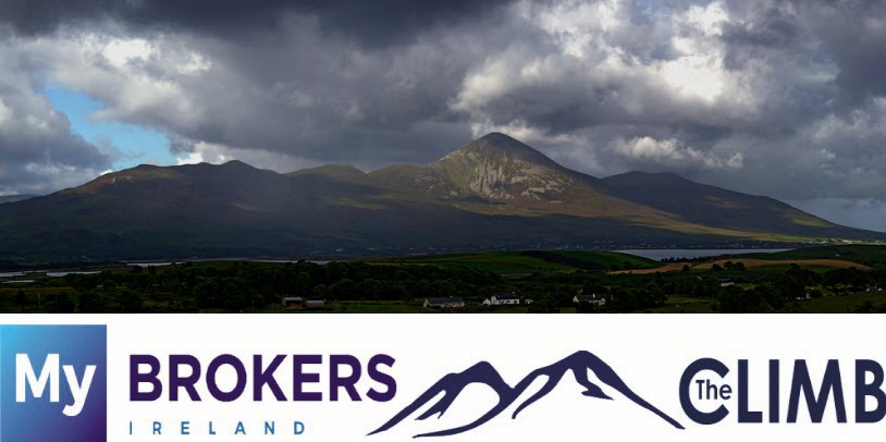 Brokers take on Croagh Patrick